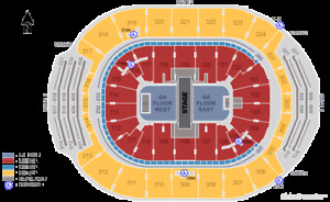 MUMFORD & SONS - 2 TICKETS - BEST LOWER LEVEL SECTION