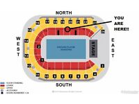**FACE VALUE** 2x Stone Roses Tickets- SSE ARENA Belfast- North Lower Tier (Seated)- Tickets in Hand