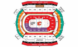 FLAMES VS WASHINGTON CAPITALS OCT 29 - NICE 2ND LEVEL - CHEAP!