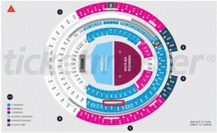 2 x seated Ed Sheeran tickets - March 2.