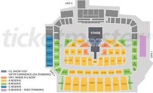 Justin Bieber - purpose world tour concert - NIB stadium East Perth Perth City Area Preview