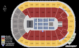 RED HOT CHILI PEPPERS TICKETS (SEC 320)