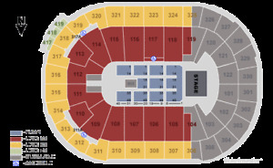 JANET JACKSON + PAIR OF CLUB SEATS + BEST SECTION + SECTION 105