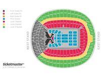 2 x Taylor Swift Tickets - Block A1 Row K - London Wembley - 23 June