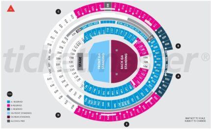 Ed Sheeran Tickets  @ $ 200 each