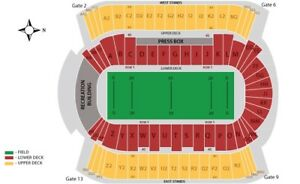 2 Grey Cup tickets Edmonton Nov 25