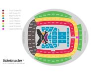 2 x Front Block A1, Taylor Swift Tickets - Manchester Etihad - Friday 8 June