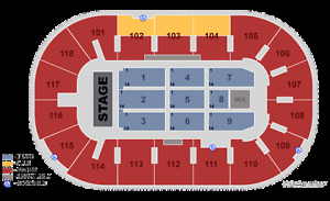 Elton John Kingston-side by side tickets