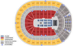 Dixie Chicks Edmonton tickets - Section 221, row 10