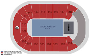 (OCT 26) Chance The Rapper (sec 112, row 19) 4 tickets