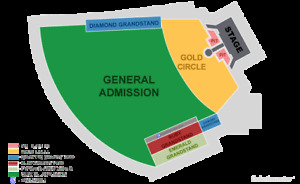 ROLLING STONES - CLOSE UP NO FILTER PIT TICKETS