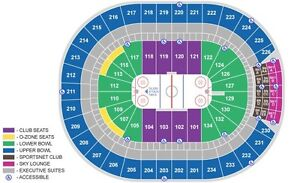 Oilers VS Avalanche March 25 section 112