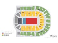Black Sabbath - Gold Circle Standing Ticket - O2 London