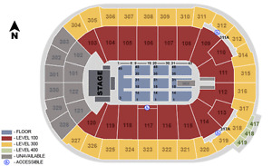 4 Bob Dylan tickets (lower bowl, on the aisle)