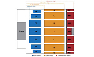 Chris Young tickets (2)
