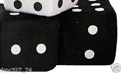 1950s Sock Hop Grease Party Decoration Car Prop PLUSH HANGING DICE ~ - Sock Party