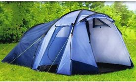 Rocktrail 4 man tent never been used still in its bag