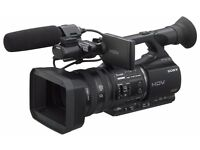 2 Camcorders for Sale as Package Sony Z5E & HVD1000