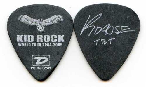 KID ROCK 2004 Pain Train Tour Guitar Pick!! JASON KRAUSE custom concert stage #1