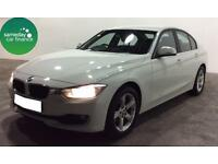 £208.95 PER MONTH WHITE 2012 BMW 318D 2.0 SE SALOON DIESEL MANUAL