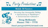DJ Services Annapolis Valley