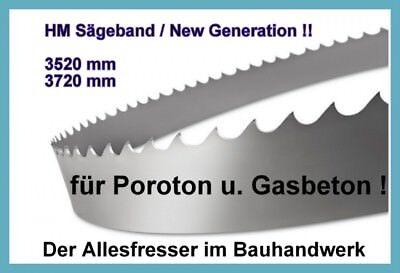 Lissmac MBS510 NEU Sägeband Bandsägeblatt HM 3750 x27mm H3 für Poroton u Yton NE