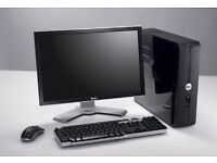 Dell full pc system. As new. Can deliver