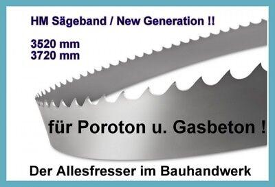 Lissmac MBS502 NEU Sägeband Bandsägeblatt HM 3520 x27mm H3 für Poroton u Yton NE