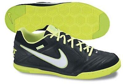 65ba7c32d7af7c Nike5 Street Gato 2012 Black Volt White Indoor Soccer Shoes Mens US 9.5