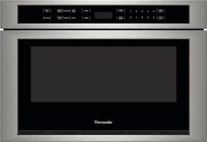 24 microwave oven, Stainless steel, Thermador, showroom