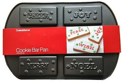 Christmas Cookie Bar Pan from Crate & Barrel  #980 Christmas Cookie Pan