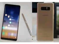 Samsung galaxy note 8 unlock