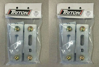 Triton 08840 Quick Slide Tie Down Kit - 2 Pack - Includes 4 Tie Downs Total