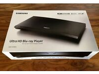 Brand new Samsung UBD-K8500 4K UHD Blu-Ray Player, Black