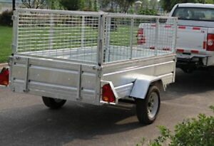 Brandnew 8'*5' utility and landscape galvanized steel Trailers