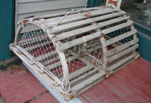 Wooden Lobster Traps For Sale(USED)