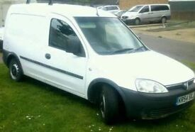 Vauxhall combo 12 month m.o.t