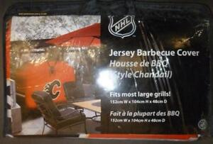 Calgary Flames Jersey Style BBQ Cover (New)