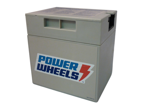 NEW 00801-0638 Battery 12 Volt Gray Genuine Power Wheels Fis
