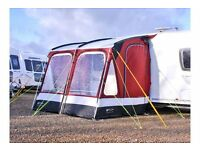 Outdoor revolution compactlite 260 porch awning cost £299 from caravan shop ONLY £140