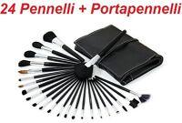 N 24 Pennelli Professionali Estetista Per Trucco,brush,eyeliner,ombretto,definer -  - ebay.it