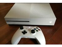 XBOX ONE S 500GB WITH 13 GAMES AND EXTRA STORGE
