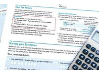 Self Assessment Tax Returns/Bookkeeping Services