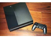 PS4 1tb with one controller