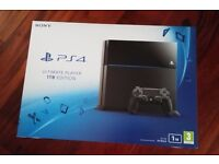 ps 4 1tb like new and two games gta v and mafia 3