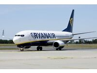 Ryanair ticket for 1 person from Stansted to Wroclaw + return for 23.02 to 25.02