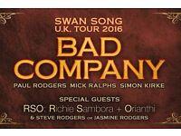 Bad Company and Richie Sambora O2 Block A3