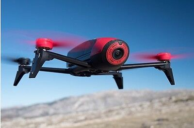 NEW 2016 PARROT BEBOP 2 DRONE 1080P VIDEO - RED AND BLACK EDITION BNIB PF726000