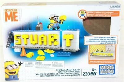 Despicable Me Minion Made Mega Bloks 230 Piece Despicable name Builder - Despicable Me Minion Names