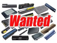 Looking for used fail/scrap laptop or power tools BATTERIES